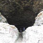 Impressive looking cave