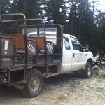 Jeep ride to Goose Lake.