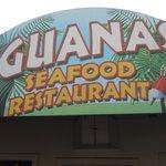 Iguanas Restaurant Sign