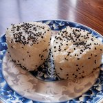 Rice cakes- with pork