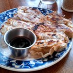 Gyoza- dumplings with pork
