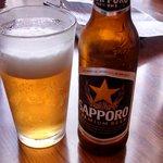 Japanese beer- very good!