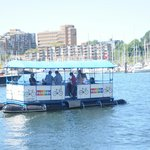Granville Island to Hornby Street (Aquabus)