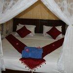 Schönes, sauberes und sehr gutes Bett