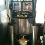 The Waffle Flour machine