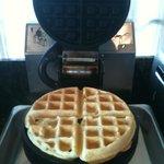 Waffle is ready