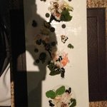 Alaskan king crab and tarragon mousse