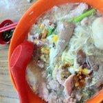 Pork noodle soup - brilliant.