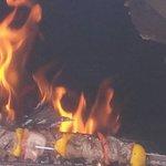 Le Grill au feu de bois