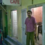 Dosa Café and the owner