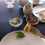 ontbijt bij restaurant Black and White