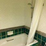 水温が温かくないバスルーム(残念)