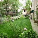 Garten vom Hotel
