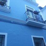 Våran balkong till höger