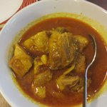 yellow curry pork