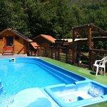 The pool at Pension MA, Romania