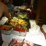 Een gedeeltevan het buffet