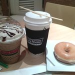 Glaze,  Ice Mocha Latte and Cafe Mocha