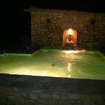 le bassin le soir