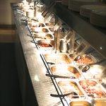 The buffet train