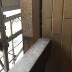 Der verdreckte Balkon