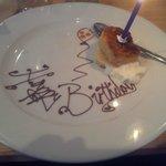 White Chocolate Birthday Sponge!