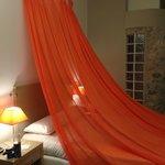 romantic, cosy, modern room