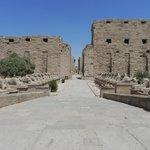 Luxor, Karnak Temple - photo taken on July 23, 2013