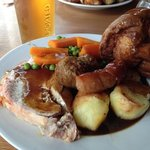 Perfect Sunday roast!