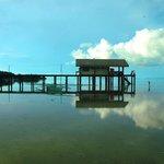 Marine Sunctuary Guardhouse within sight from Tapik