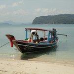 Koh Mudsum - a short boat ride from the Conrad