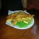 Fish and Chips as eaten by Jude Law (and my son!)