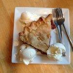 Incredible strawberry-rhubarb pie