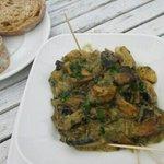 Garlic mushrooms!