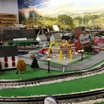 Model Railroad Exhibit by Crossville Model Railroad Club