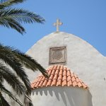 At Crete are many churches and monasteries