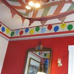ceiling decor in the Playroom