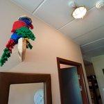 papegøjen på værelset