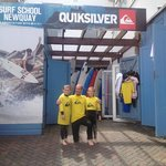 Awesome lesson at Quiksilver Surf School