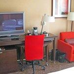 Guestroom workspace