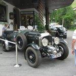 Herr Scheider's vintage Bentley