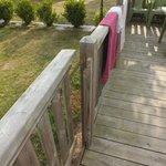 Barrière de la terrasse