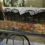 one meter of pizza!