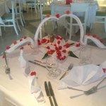 Geburgstag Tisch