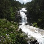 Waterfalls at Le Pont D'Espagne - they will take your breath away, so will the road up to them