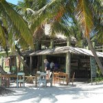 Restaurant on site - probably the best food that I had in Belize