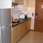 Executive room kitchen area