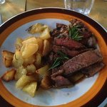 Chianina dinner. Melts in your mouth!