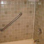 very nice and clean bathroo