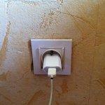 prise électrique bien pourrie
